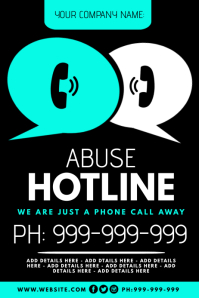 Abuse Hotline Poster