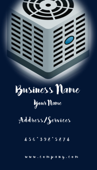 AC and Heating Business Card