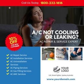 AC Repair & Services Instagram Template