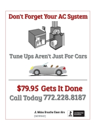 AC Tune Up Flyer template