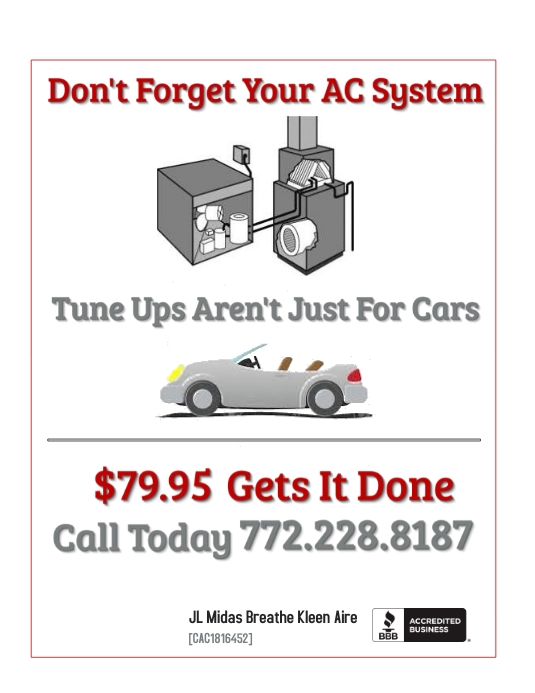 AC Tune Up Flyer