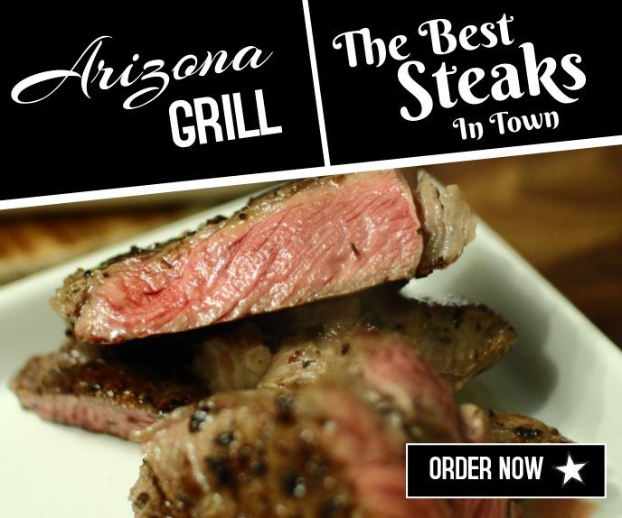 Restaurant Rectangle Ad Template Malaking Rektangle