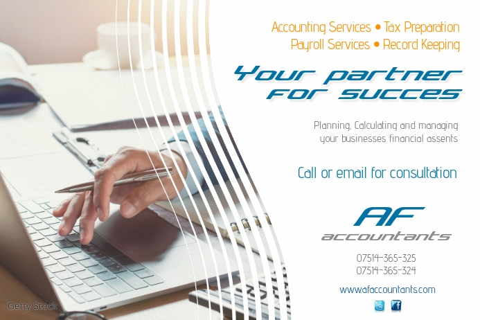 Accountant Flyer Template | PosterMyWall