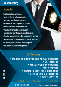 Accountants Leaflet Template