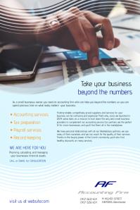 Accountants Flyer