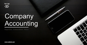 Accounting Company Umkhangiso we-Facebook template