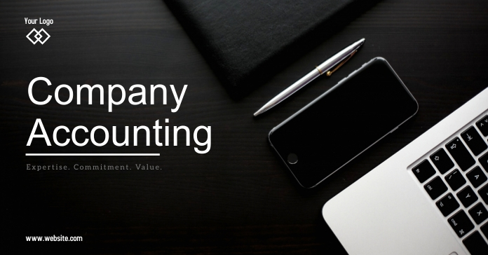 Accounting Company Facebook-annonce template