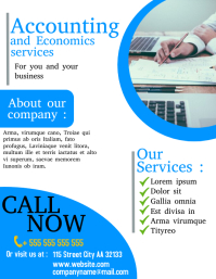 accounting office flyer
