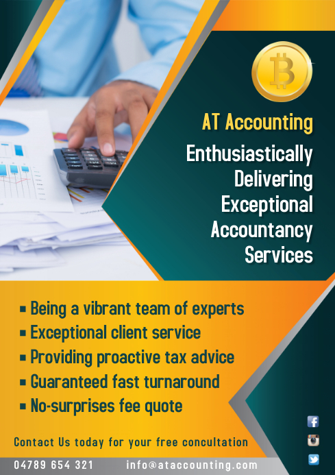 Accounting Services Company Flyer Template | PosterMyWall