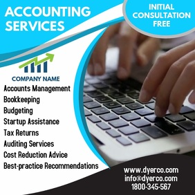 Accounting Services Instagram Template