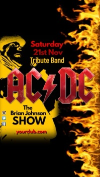 ACDC Tribute Show Template