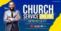 ACHURCH LIVE ONLINE SERMON TEMPLATE Portada de evento de Facebook