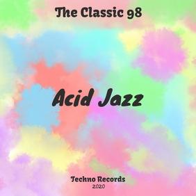 Acid Cover Pochette d'album template