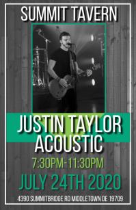 acoustic Tabloide template