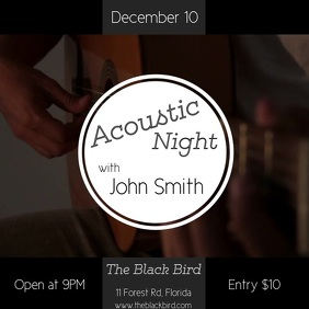 Acoustic night post