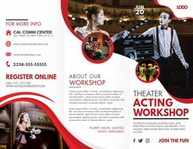 Acting and Theatre Workshop Brochure