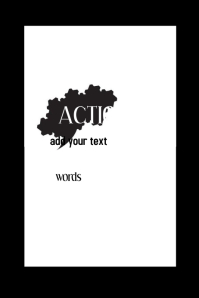 Actions Speak Louder Than Words Wall Art Decor Gift