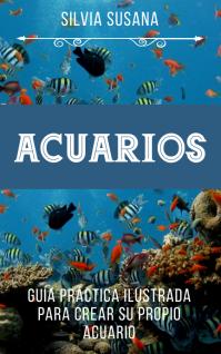 Acuarios carátula para libro kindle Kindle-cover template