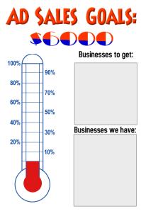 Ad Sales Goal