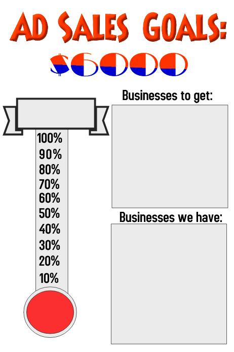 sales goals template