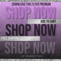 Add to cart flyer Instagram 帖子 template
