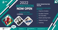 Admission flyer Template โฆษณา Facebook