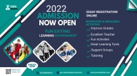 Admission flyer Template Twitch Banner