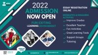 Admission flyer Template โพสต์บน Twitter