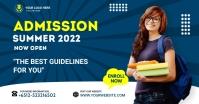 Admission flyer Template Umkhangiso we-Facebook