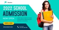 Admission Open Banner Template Facebook Shared Image