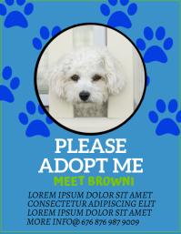 adopt a pet template Pamflet (VSA Brief)