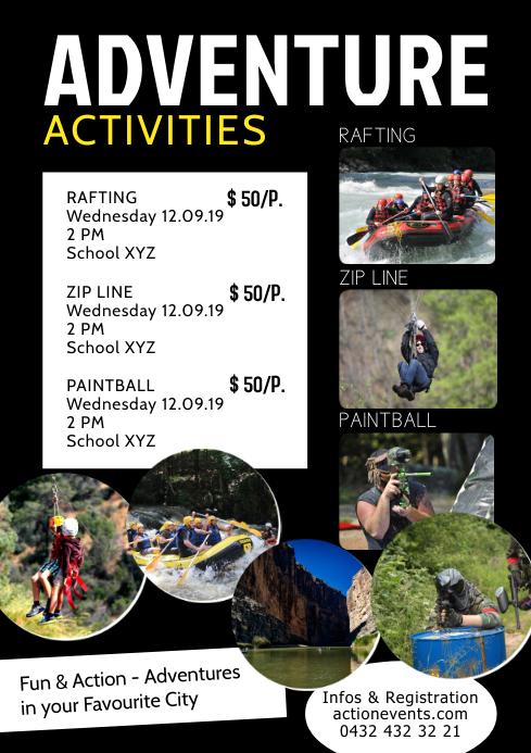 Adventure Activities Activity Sport Holiday