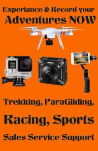 adventure sports camera