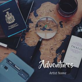 Adventures Album Art 02 template