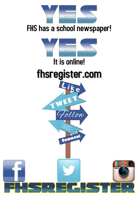 Advertising flyer social media