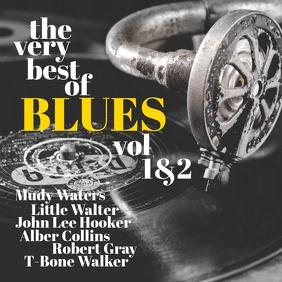 Blues Album Cover Template