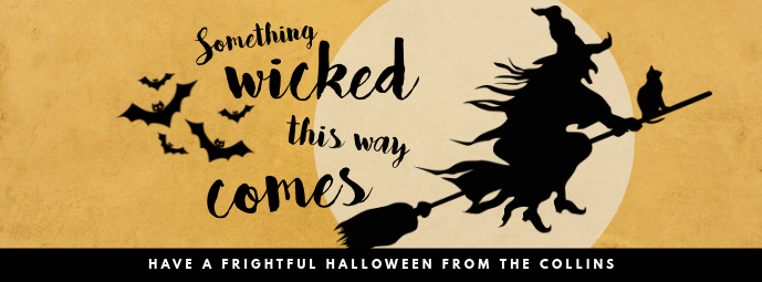 Aesthetic Halloween Wish Facebook Cover Template