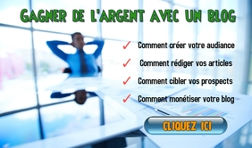 AFFICHE COMMENT CREER UN BLOG