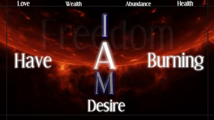 Affirmation Facebook Cover Video (16:9) template