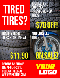 Affordable Tires For Sale Flyer Template