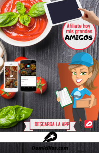 Afiliate a Domicilios.com