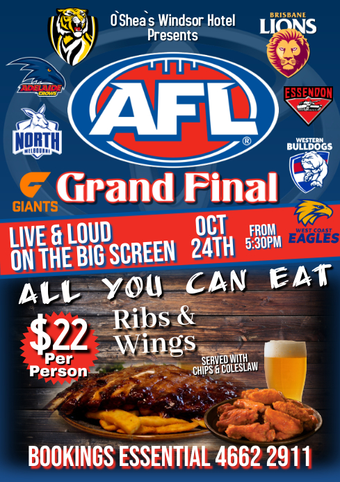 AFL Finals 2020 A1 template