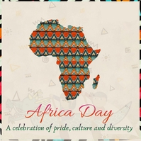 africa day Post Instagram template