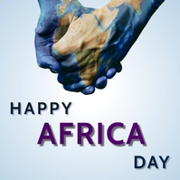 africa day Instagram Post template