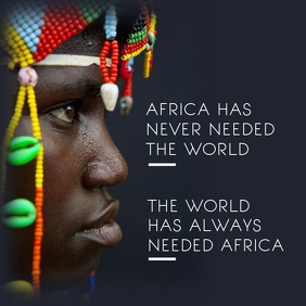 Africa in Coronavirus Times Template