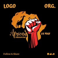 African Freedom Day 2021 Template Instagram-Beitrag