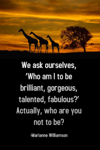 AFRICAN POSTER INSPIRATIONAL