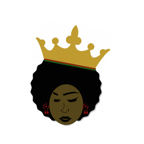 African Queen Logo Design