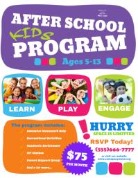 After school kids program
