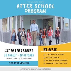 After School Program Advertisement Instagram